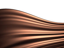 Chocolate background with white space Stock Image