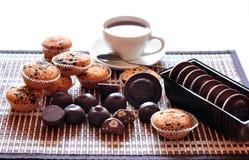 Chocolate, baking and coffee Stock Photo