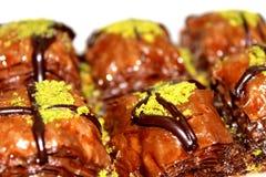 Chocolate Baklava Dessert royalty free stock image