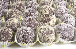 chocolate ball Stock Images