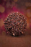 Chocolate ball Royalty Free Stock Photos