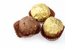 Chocolate ball Stock Image