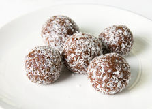 Chocolate ball Stock Image