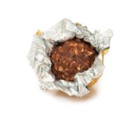 Chocolate ball. Royalty Free Stock Image