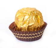 Chocolate ball. Royalty Free Stock Photo