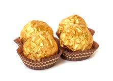 Chocolate ball. Stock Photography