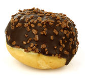 Chocolate ball donut Stock Photo