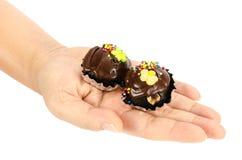 Chocolate ball Stock Photography