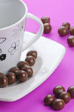 Chocolate ball`s Royalty Free Stock Images
