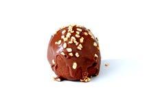 Chocolate ball Royalty Free Stock Photography