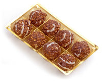 Chocolate balls. Royalty Free Stock Image