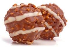 Chocolate balls. Stock Images