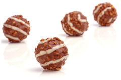 Chocolate balls. Stock Images