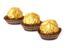 Chocolate balls. Stock Photos