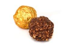 Chocolate balls. Stock Photography