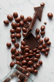 Chocolate balls background Royalty Free Stock Photography