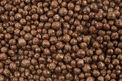 Chocolate balls background Royalty Free Stock Image