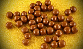 Chocolate balls Royalty Free Stock Photos
