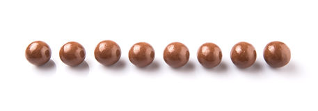 Chocolate Balls III Royalty Free Stock Photo
