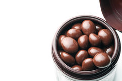 Chocolate balls Stock Image