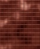 Chocolate bar. Large bar of dark and silky chocolate Stock Image