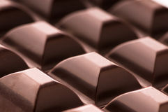 Chocolate Bar. Nice closeup of a chocolate bar Stock Images