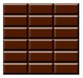 Chocolate bar. Illustration on isolated background royalty free illustration