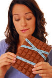 Chocolate bar Royalty Free Stock Photo