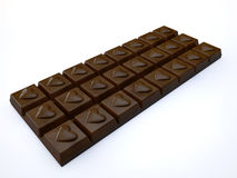 Chocolate bar Stock Image