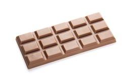 Chocolate Bar. Dark Chocolate Bar Isolated on White Stock Images