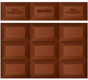 Chocolate bar. Royalty Free Stock Photos