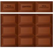 Chocolate bar. Royalty Free Stock Photos