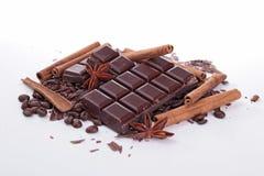Chocolate bar Stock Images
