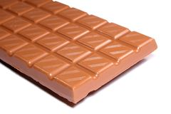 Chocolate Bar. Close-up of chocolate bar Stock Image