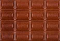 Chocolate Bar As Background Stock Photo
