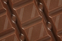 Chocolate bar background Stock Photos
