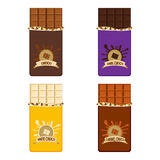 Chocolate Bar Collection Royalty Free Stock Images