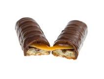 Chocolate bar isolated Stock Photo