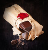 Chocolate bar. Stock Photo