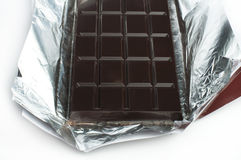 Chocolate bar in packaging Royalty Free Stock Images