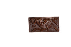 Chocolate bar. A Chocolate bar with pretzels Stock Photos