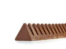 Chocolate Bar in  pyramid shape. Stock Photo