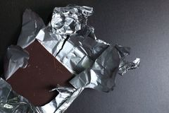 Chocolate bar scene. royalty free stock photography