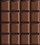 Chocolate bar seamless pattern Stock Photos