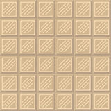 Chocolate bar seamless pattern. Stock Photos