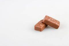 Chocolate bar set. Isolated on white background stock photo