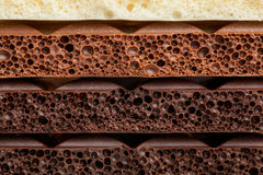 Chocolate. Bar texture tile pattern Royalty Free Stock Photos