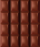 Chocolate Bar. Vector for backgrounds or icons or graphic representation Stock Image