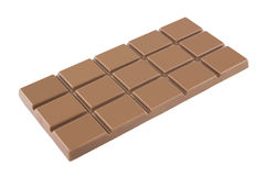 Chocolate bar. On a white background Stock Photo