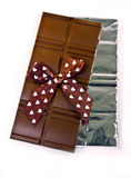 Two chocolate bars Royalty Free Stock Images